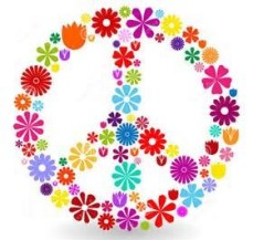 Flower peace sign (2)