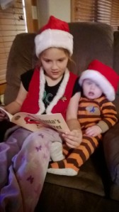 Kylie reading SS to Kody (2)